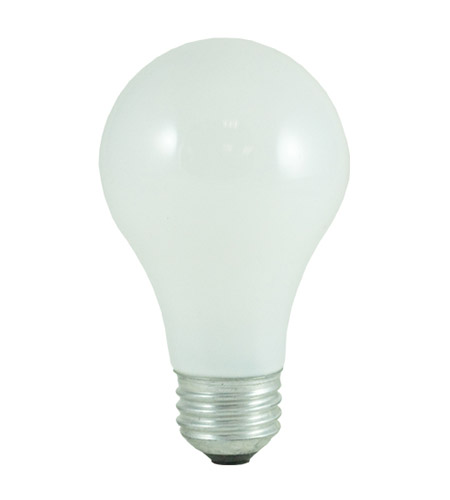 Bulbrite 60W Incandescent A19, Soft White, 3-Pack 60A/SW photo