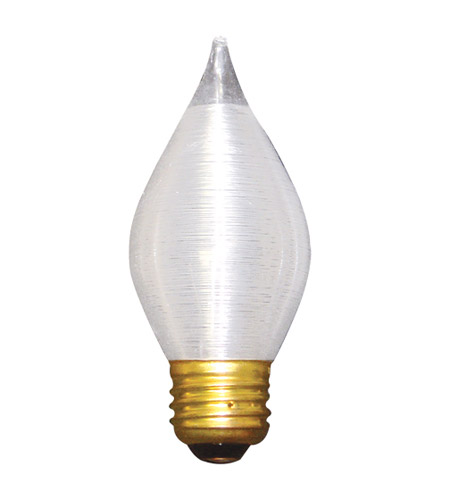 Bulbrite 60C15S Spunlite Incandescent C15 E26 60 watt 130V 2700K Bulb in Satin photo
