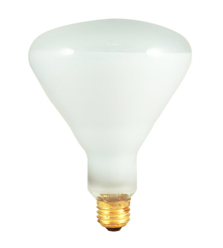 Bulbrite 65BR40FL3 Reflectors Incandescent BR40 E26 65 watt 130V 2700K Bulb in Clear photo