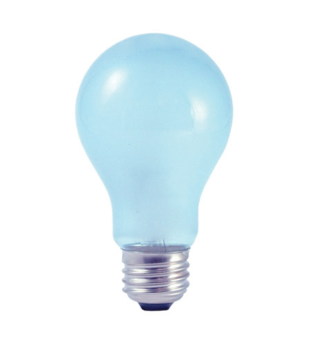 Bulbrite 72A19FR/N/ECO True Daylight Halogen A19 E26 72 watt 120V 2700K Bulb in Frost photo