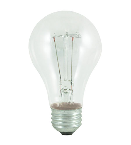 Bulbrite 75W 130V Long Life Standard Incandescent A19 2-Pack, Clear 75A/CL photo