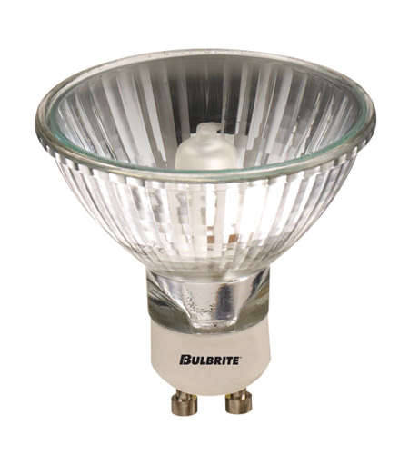 Bulbrite 75MR20/GU10F-5PK MRs Halogen MR20 GU10 75 watt 120V 2900K Bulb, Pack of 5