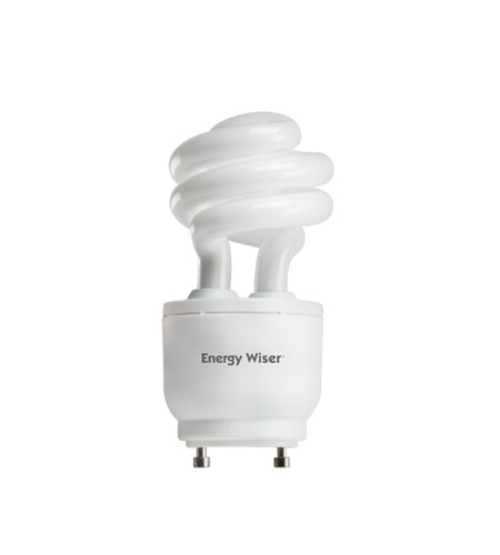 Bulbrite 13W 120V Energy Wiser Dimmable Compact Fluorescent Coil, GU24 Base, Warm White CF13WW/GU24/DM photo