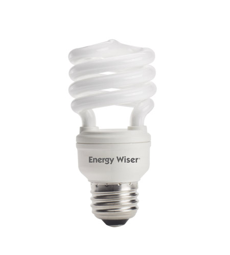 Bulbrite 13W Super Mini Low-Mercury Compact Fluorescent Coil, Warm White CF13WW/LM photo