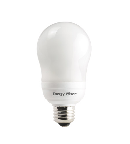 Bulbrite 14W Compact Fluorescent A19 Shape, Warm White CF14A/WW