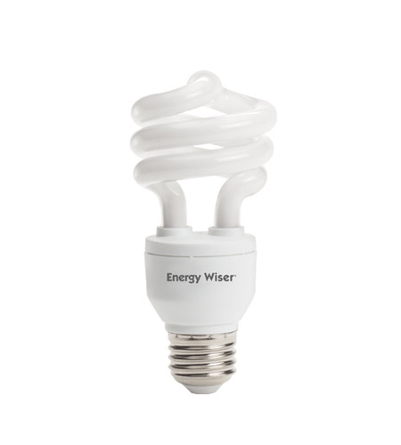 Bulbrite 15W 120V Energy Wiser Dimmable Compact Fluorescent Coil, Warm White CF15C/WW/DM