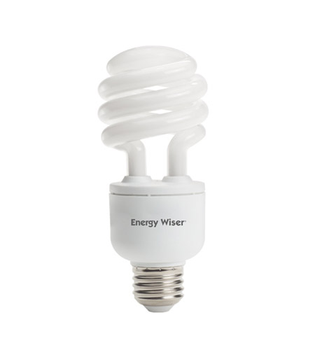 Bulbrite CF18C/WW/DM Coils Compact Fluorescent T3 E26 18 watt 120V 2700K Bulb photo