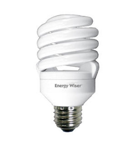 Bulbrite 18W Super Mini Compact Fluorescent Coil, Warm White CF18T2/WW photo