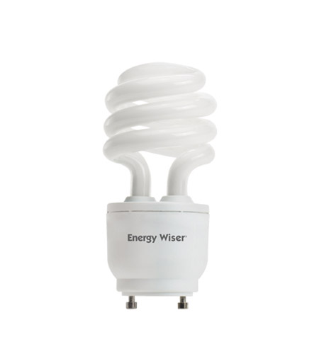 Bulbrite 18W 120V Energy Wiser Dimmable Compact Fluorescent Coil, GU24 Base, Warm White CF18WW/GU24/DM photo