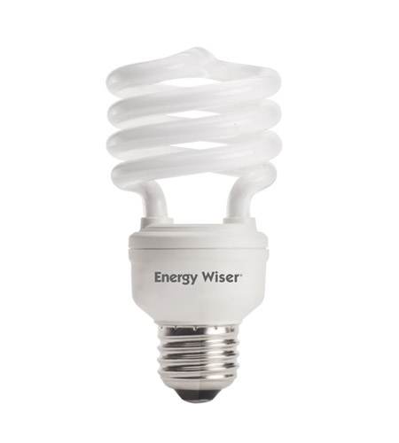 Bulbrite 18W Super Mini Low-Mercury Compact Fluorescent Coil, Warm White CF18WW/LM photo