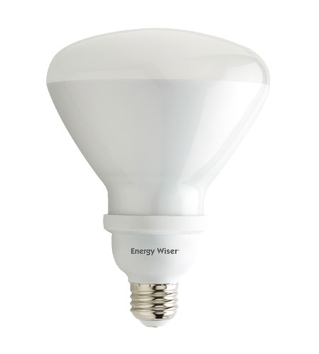 Bulbrite 23W (120W Equivalent) Energy Efficient Compact Fluorescent R40 Reflector, Warm White CF23R40WW photo
