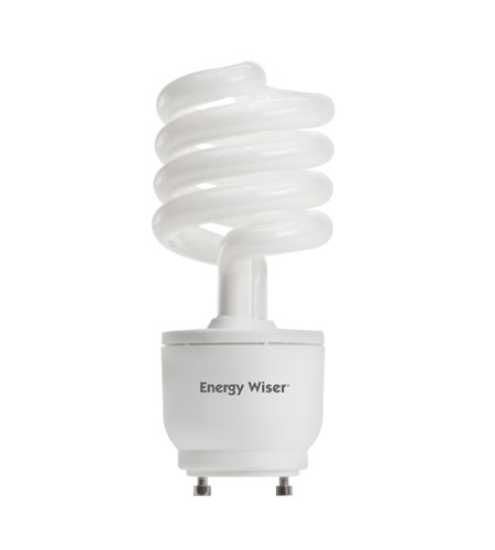 Bulbrite 23W 120V Energy Wiser Dimmable Compact Fluorescent Coil, GU24 Base, Warm White CF23WW/GU24/DM