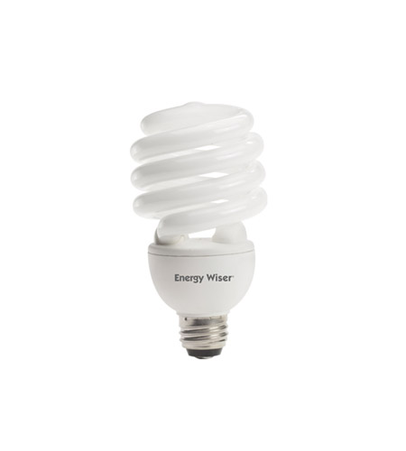 Bulbrite CF25C/3WAY Compact Fluorescent / CFL 3-Way Compact Fluorescent T3 E26 25 watt 120V 2700K Bulb photo