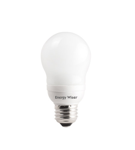 Bulbrite 9W 120V Energy Wiser Compact Fluorescent A17 bulb CF9A17/WW photo