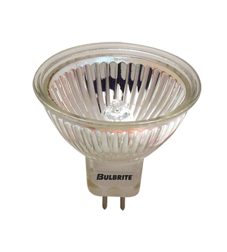 Bulbrite EXN MRs Halogen MR16 GU5.3 50 watt 12V 2700K Bulb in Clear, 2900K, Flood photo