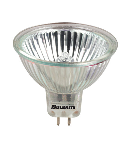 Bulbrite 50W 12V Halogen, MR16 Long Life Lensed Bi-Pin, Flood EXN/10M