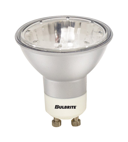 Bulbrite EXN/GU10/SLV MRs Halogen MR16 GU10 50 watt 120V 2700K Bulb in Silver, Flood photo