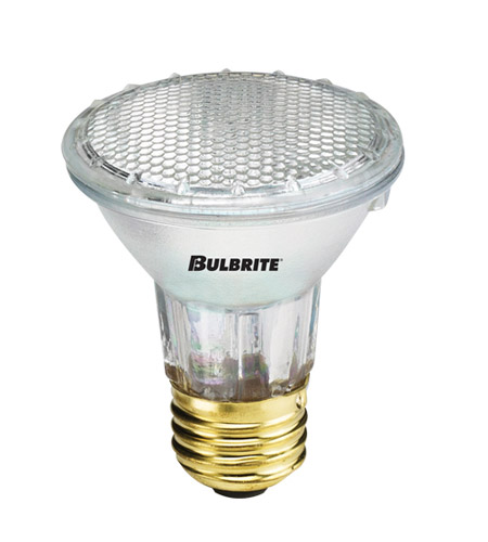 Bulbrite H35PAR20NF PARs Halogen PAR20 E26 35 watt 120V 3000K Bulb in Narrow Flood photo