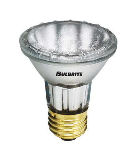 Bulbrite H35PAR20NS-6PK PARs Halogen PAR20 E26 35 watt 120V 2900K Bulb, Pack of 6 photo
