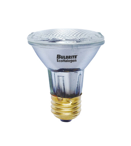 Bulbrite H39PAR20FL/ECO PARs Halogen PAR20 E26 39 watt 120V 2900K Light Bulb in Flood photo