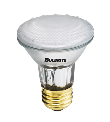 Bulbrite H50PAR20FR2 Halogen Dimmable Halogen PAR20 E26 50 watt 120V 2700K Bulb in Flood photo