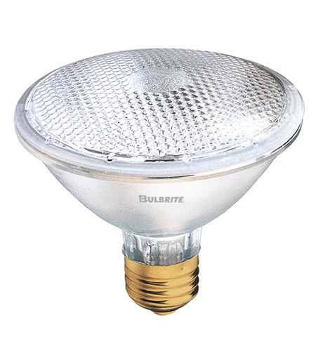 Bulbrite H50PAR30FL Halogen Dimmable Halogen PAR30 E26 50 watt 120V 2800K Bulb in Flood photo