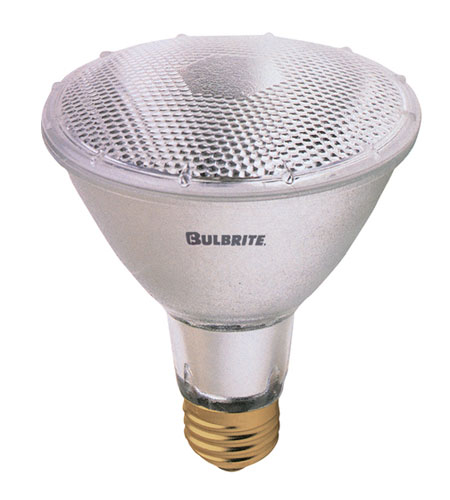 Bulbrite H50PAR30NF3L Halogen Dimmable Halogen PAR30 E26 50 watt 130V 3000K Bulb in Narrow Flood photo
