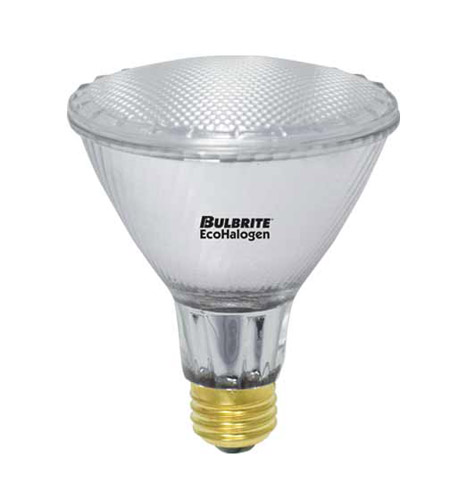 Bulbrite H60PAR30NF/L/ECO/2PK Halogen Dimmable Halogen PAR30 E26 60 watt 120V 3000K Bulb in Narrow Flood photo