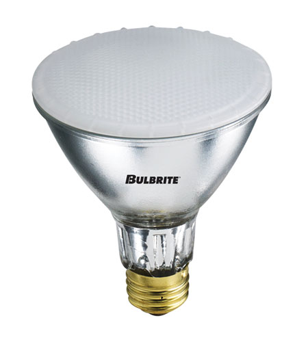 Bulbrite 75W 120V Frosted Halogen, PAR30 Long Neck H75PAR30FR2/L