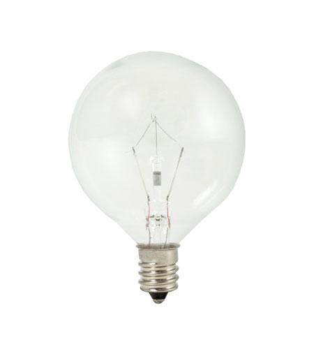 Bulbrite Kr40g16cl Krystal Touch Krypton G16 1 2 E12 40 Watt 120v 3000k Bulb