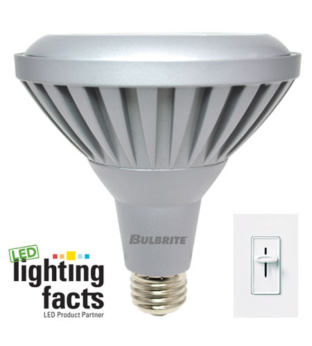 Bulbrite LED11PAR38WW/NF/D LED Dimmable LED PAR38 E26 11 watt 120V 3000K Bulb in Narrow Flood photo