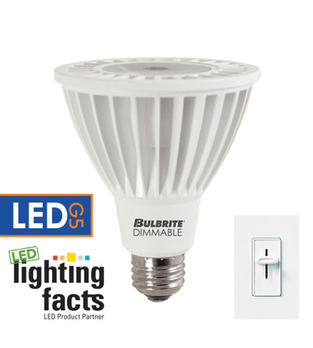 Bulbrite LED14PAR30WFL/L/30K/D LED Dimmable LED PAR30 E26 14 watt 120V 3000K Bulb in Flood photo