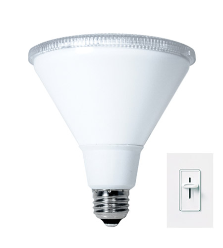 Bulbrite LED16PAR38WFL/830/D PARs LED PAR38 E26 16 watt 120V 3000K Light Bulb in Wide Flood photo