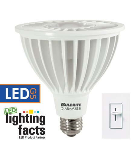 Bulbrite LED20PAR38WFL/40K/D PARs LED PAR38 E26 20 watt 120V 4000K Light Bulb in Wide Flood photo