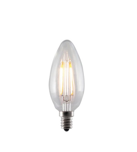 Bulbrite LED4B11/27K/FIL/E12 LED Filaments LED B11 E12 4 watt 120V 2700K LED Bulb  photo