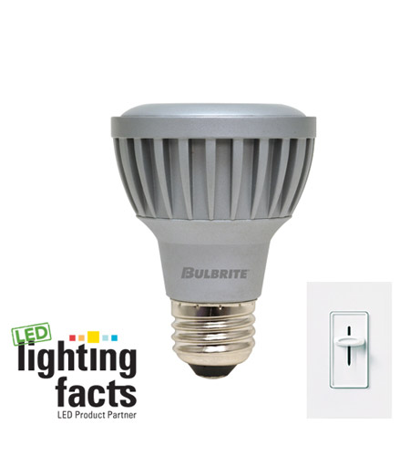 Bulbrite LED5PAR20WW/NF/D LED Dimmable LED PAR20 E26 5.5 watt 120V 3000K Bulb in Narrow Flood photo