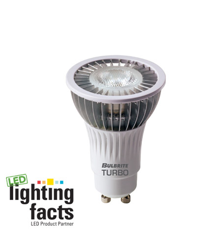 Bulbrite LED6MR16GU/WW LED Non-Dimmable LED MR16 GU10 6 watt 120V 3000K Bulb in Flood photo