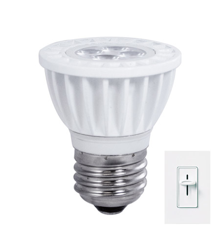 Bulbrite LED6MR16SW/D/E26 MRs LED MR16 E26 6 watt 120V 3000K Light Bulb  photo