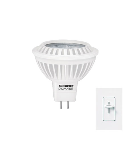 Bulbrite 6.5-Watt Dimmable LED MR16, Soft White (3000K) LED6MR16WW/D photo