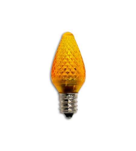 Bulbrite LED/C7O LED Non-dimmable LED C7 E12 0.35 watt 120V Light Bulb in Orange photo
