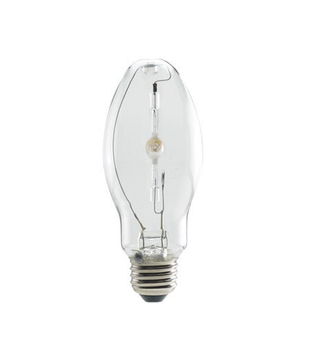 Bulbrite MH100/U/MED-2PK Metal Halide Pulse Start Enclosed Fixtures HID ED17 E26 100 watt 4000K Bulb, Pack of 2