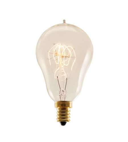 Bulbrite NOS25A15/LP/E12-4PK Nostalgic Incandescent A15 E12 25 watt 120V 2200K Bulb, Pack of 4