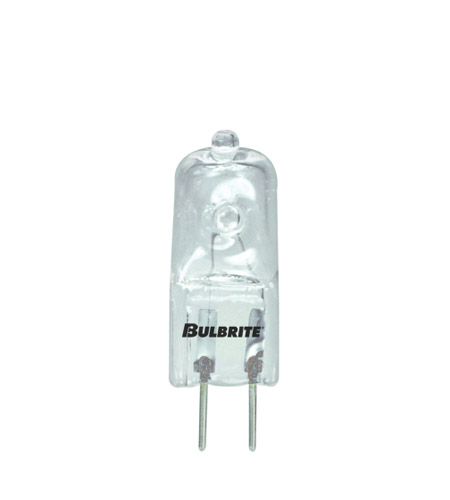 Bulbrite Q20GY6/120-10PK JC Bi-Pin Halogen T4 G6.35 20 watt 120V 2900K Bulb, Pack of 10 photo