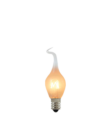 Bulbrite SF/6S6 Chandelier Incandescent S6 E12 6 watt 120V 2700K Bulb photo