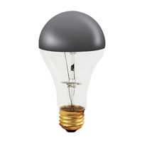 Bulbrite Half Chrome 100W A Shape Bulb 100A21HM
