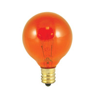 Bulbrite 10G12A-25PK Colored Lamps Incandescent G12 E12 10 watt 130V Bulb Pack of 25