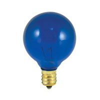Bulbrite Transparent Blue Light Bulbs