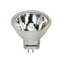Bulbrite 10MR11NF/6 MRs Halogen MR11 GU4 10 watt 6V 2700K Bulb in Clear, Narrow Flood photo thumbnail
