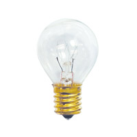 Specialty Incandescent S11 E17 10 watt 130V 2700K Bulb in Clear
