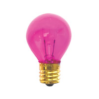 Bulbrite Specialty S11 Intermediate Base Bulb in Pink 10S11TP